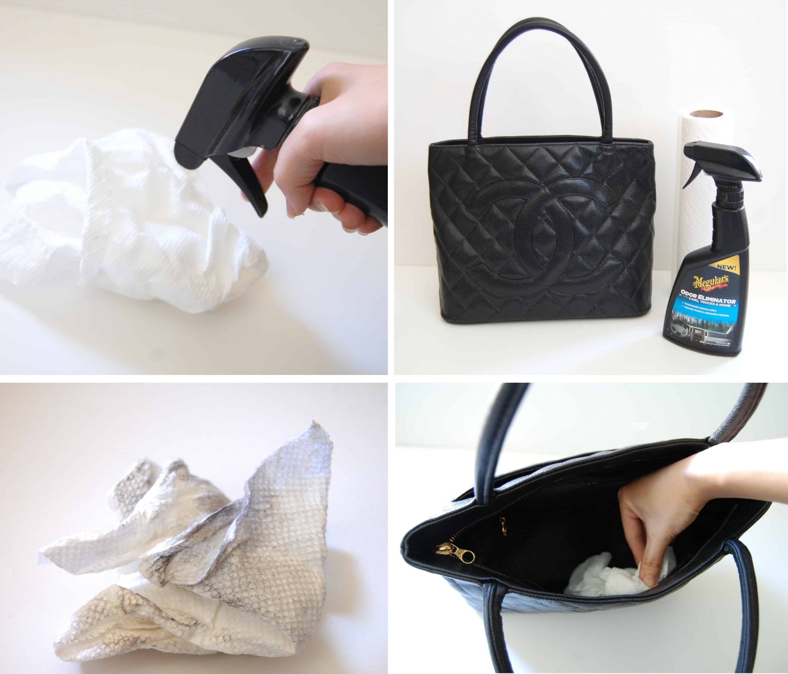 Cómo eliminar los olores de bolsos y mochilas